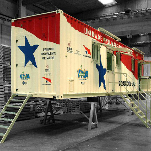 Container clinica mobile