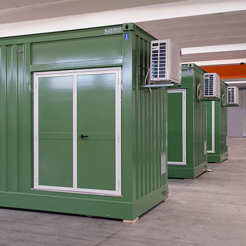 Container per sale quadri